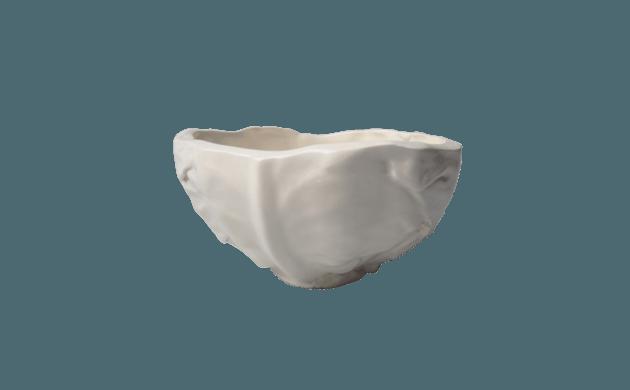 Bol en céramique blanche