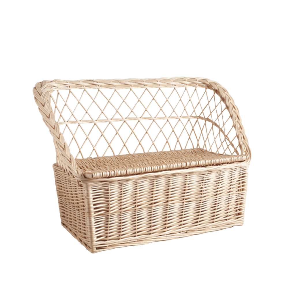 rattan toy box the socialite family. Black Bedroom Furniture Sets. Home Design Ideas