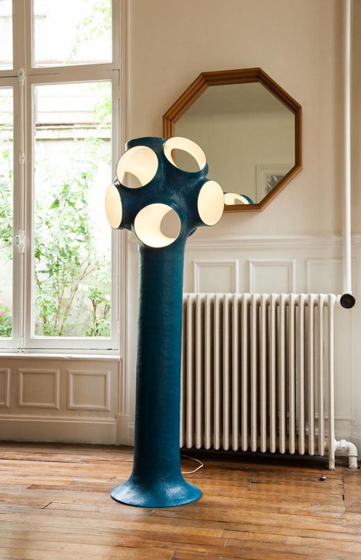 Lampe Simonet Maison Reims Créateurs de La Maison Jaune Julien et Élodie Régnier