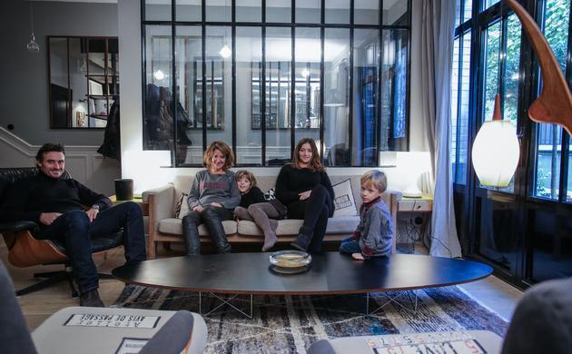 Laure Vial Du Chatenet et Bertrand, <br> Marie, Blanche, César