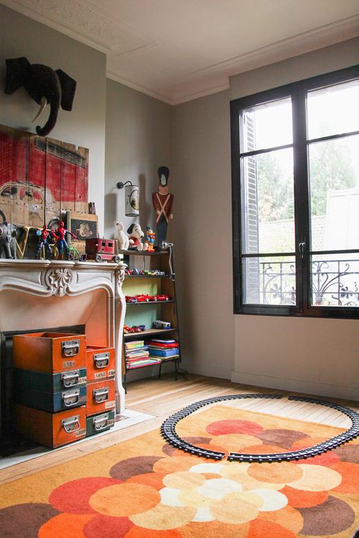 chambre d'enfant jouets vintage Laure Vial du Chatenet