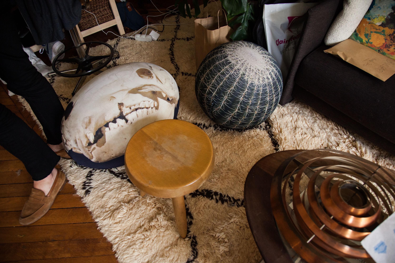 mobilier chaise pouf tapis berbère atelier nicolas ouchenir