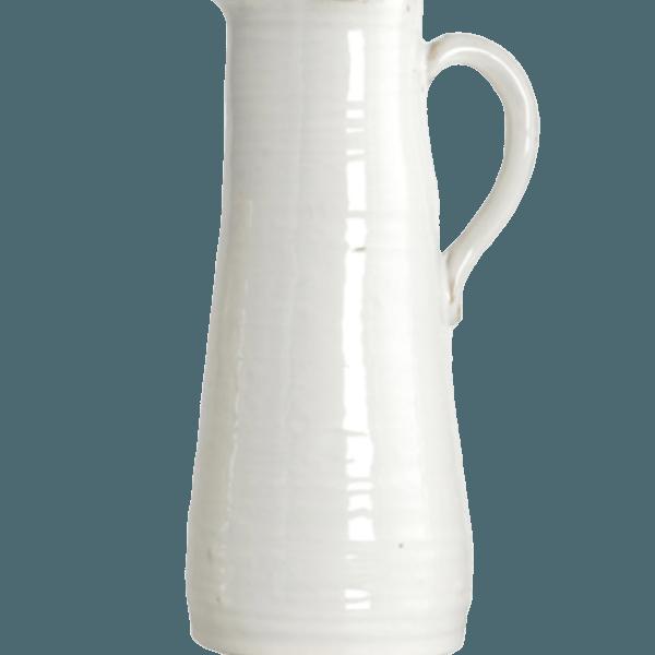 Ceramic White Vase The Socialite Family