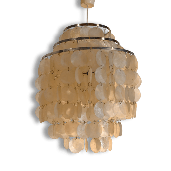Mother Of Pearl Ceiling Light By Panton The Socialite Family