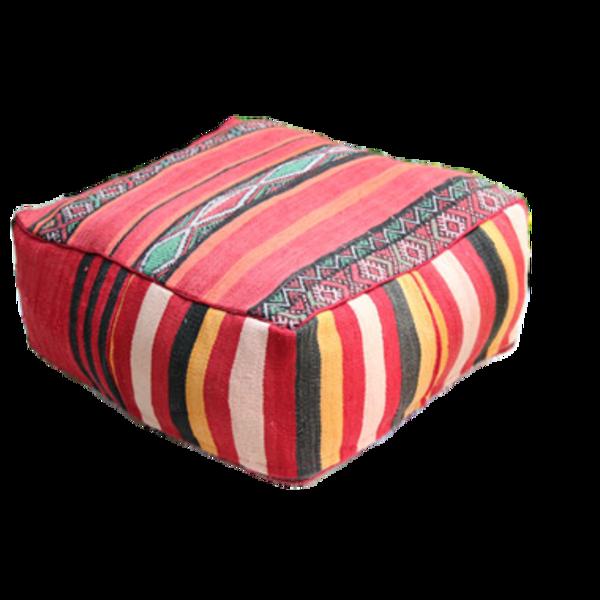 housse de pouf kilim the socialite family. Black Bedroom Furniture Sets. Home Design Ideas