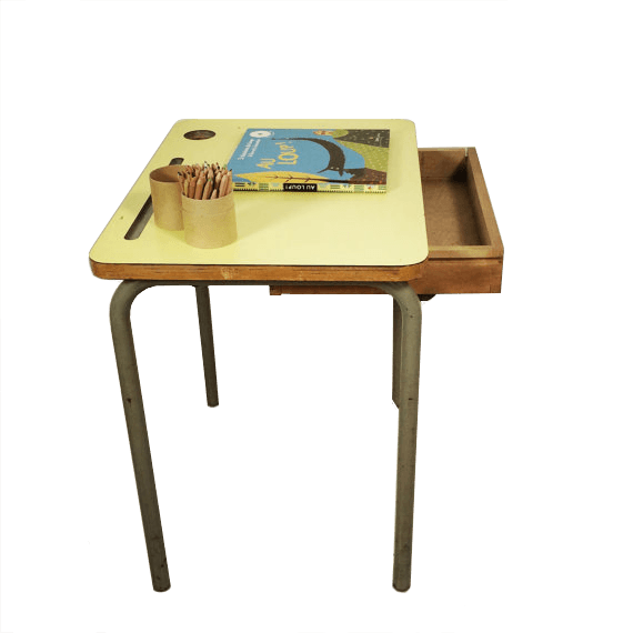 Formica kids desk the socialite family for Table formica
