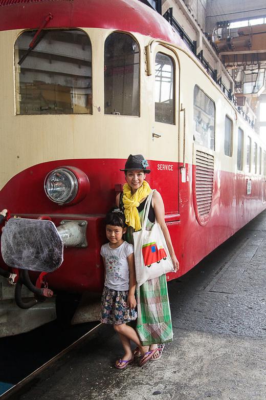 Famille Youmi Grand Train SNCF Tchou Tchou Festival
