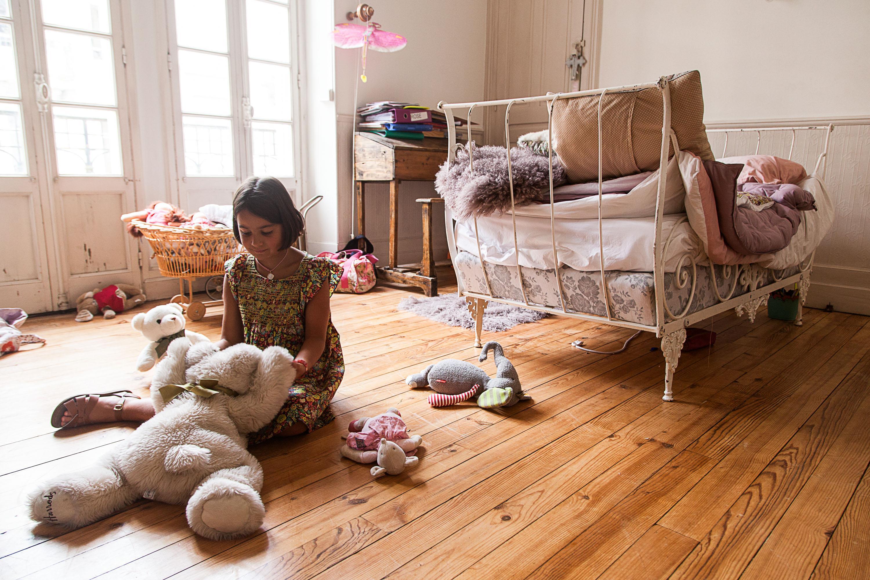 Chambre Enfant Fille Rose Villa Atlantida
