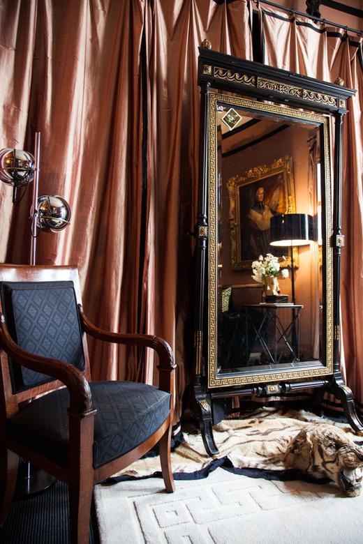 Chambre Déco Empire Appartement Michael Coorengel et Jean-Pierre Calvagrac