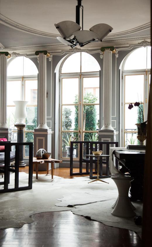 Salon Hôtel Particulier Déco Michael Coorengel et Jean-Pierre Calvagrac