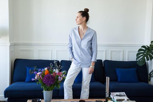 Salon Portrait Appartement Marie Marot