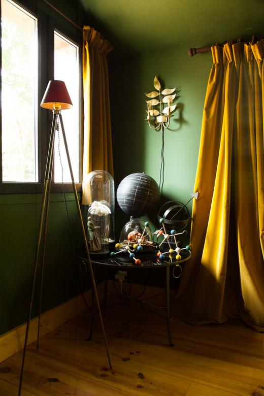 Chineries Salon Globe Terrestre Maison Campagne Normandie Artiste Marin Montagut