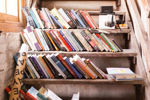 Livres Accumulation Bureaux New York Pénélope Bagieu