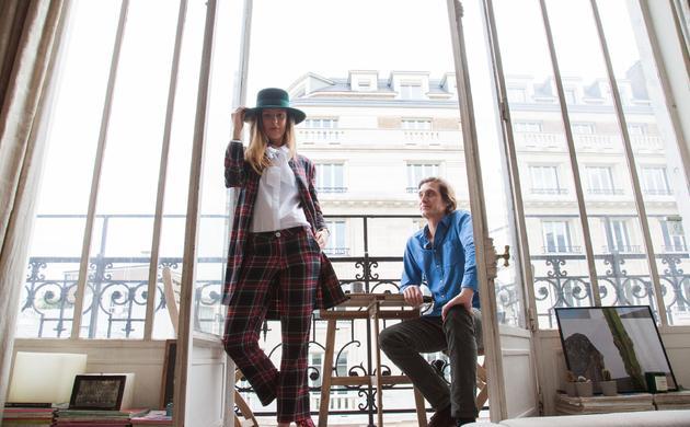 Maria de la Orden and Jérôme Baril