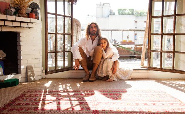 Nicolas Lefebvre et Anahi, 6 ans