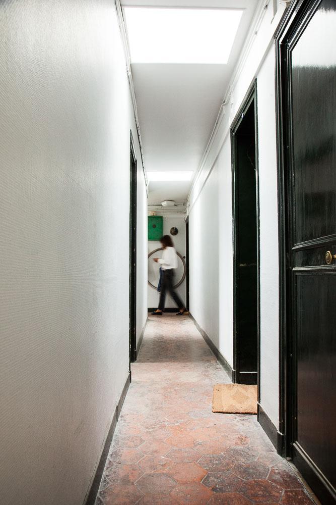 Couloirs Nicolas Lefebvre Appartement Atelier Paris
