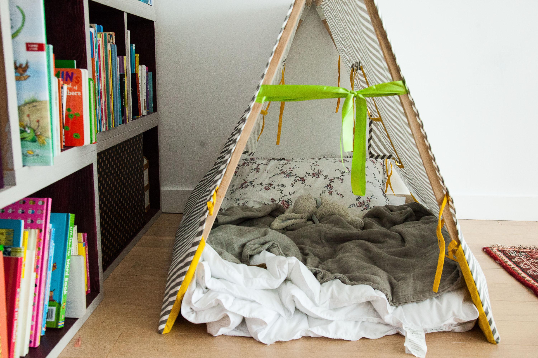 Chambre d'enfant Cabane Tente Appartement Sophie Thimonnier New York