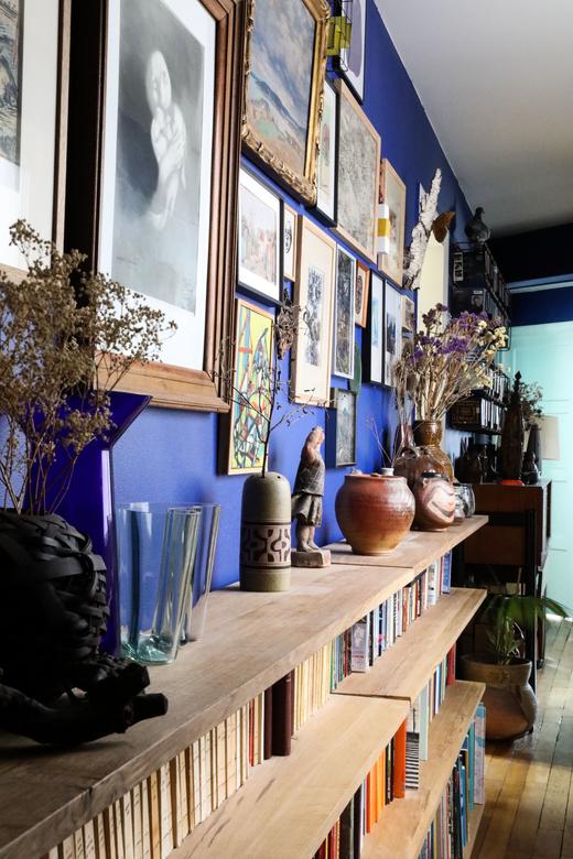 Art Exposition Étagère Appartement Créateur Galerie Stimmung Augustin David