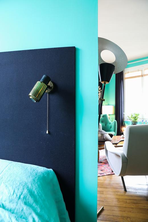 Chambre Séparation Couloir Appartement Créateur Galerie Stimmung Augustin David
