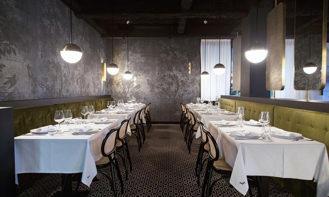 La for t noire uncommon moment of gastronomy for Moquette restaurant