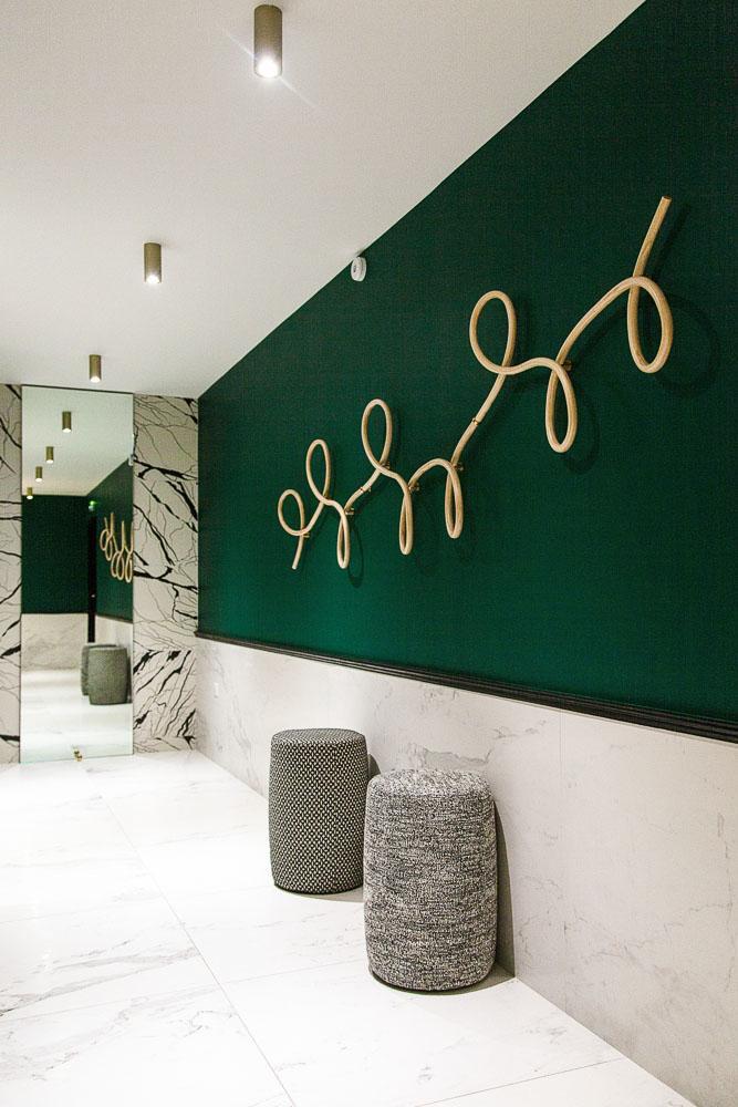 Couloir Restaurant La Forêt Noire
