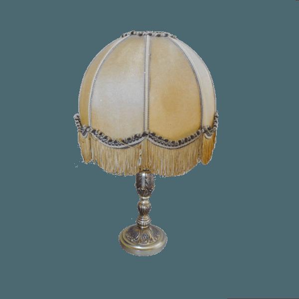 Ancienne Lampe En Laiton Massif The Socialite Family