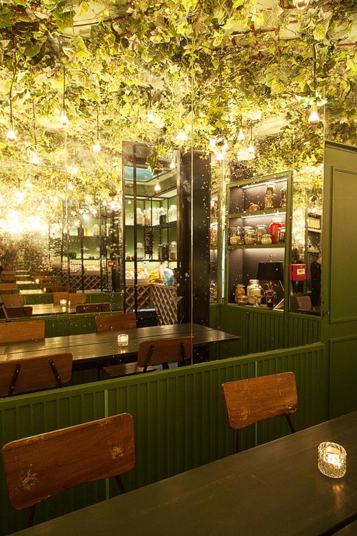 Salle Secrète Restaurant Bar Cocktail Adresse Pigalle Maison Lautrec