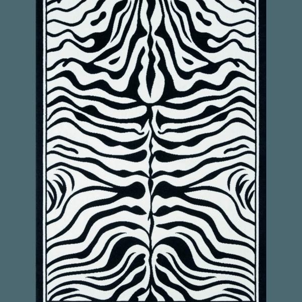 zebra rug the socialite family. Black Bedroom Furniture Sets. Home Design Ideas