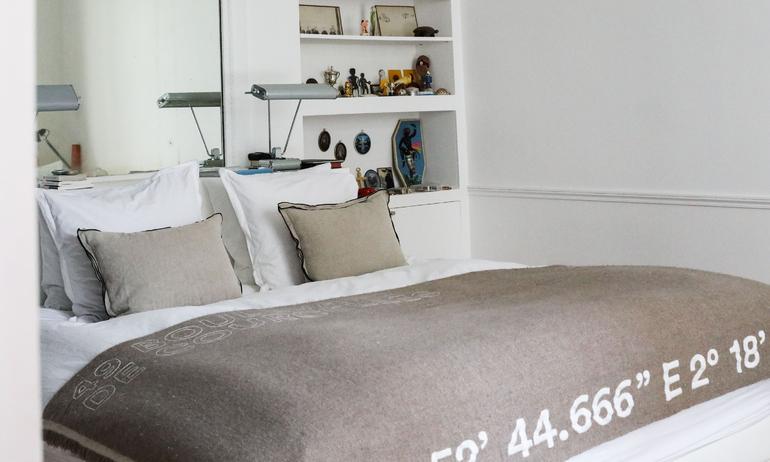 Chambre Parentale Appartement Paris Linge de Lit Kilometre Alexandra Senes