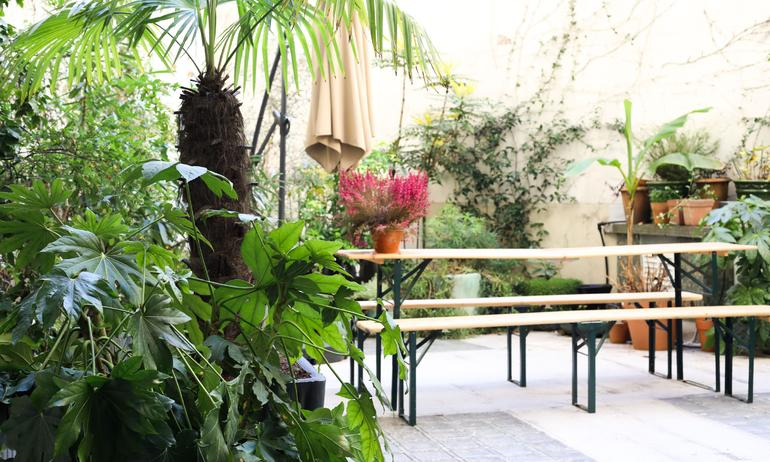 Terrasse Extérieur Appartement Alexandra Senes