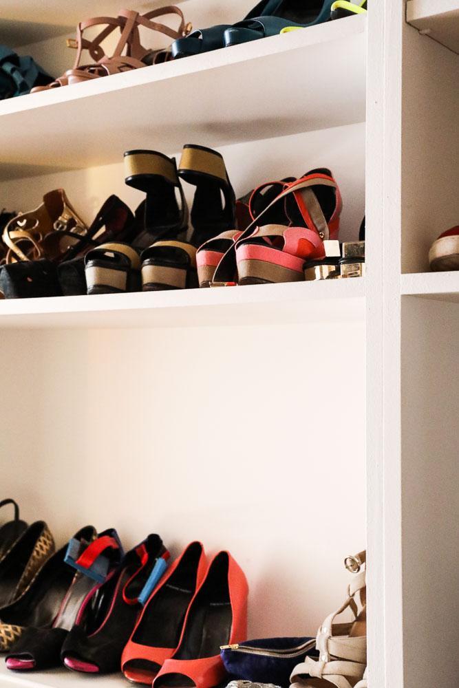 Dressing Chaussures Accumulation Appartement Alexandra Senes