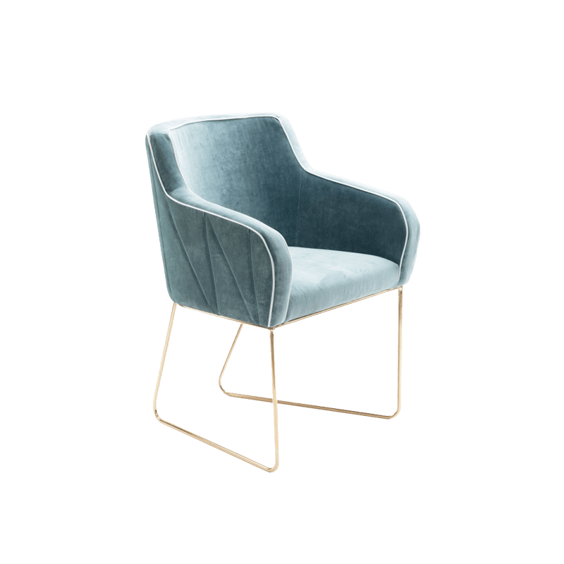 Croix chair the socialite family - Chaise pliante velours ...