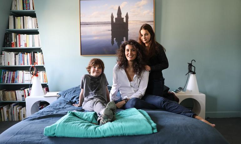 Gabriella Toscan du Plantier, <br> Margaux 10 ans et Raul 8 ans