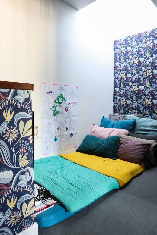 Chambre Enfant Papier Peint Appartement Déco Gabriella Toscan du Plantier
