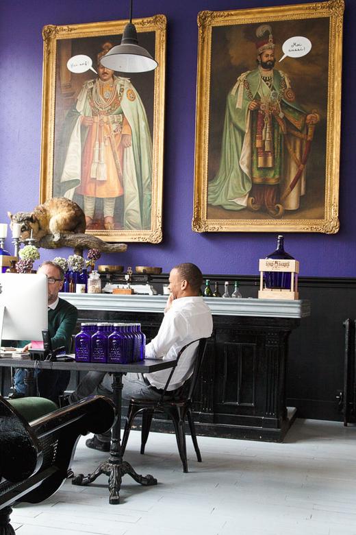 Portrait Fondateurs Hervé Lopez Vincent Valton Lord of Barbès Gin Paris