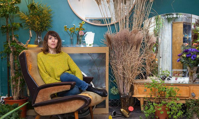 Marion Audier, fleuriste touche-à-tout