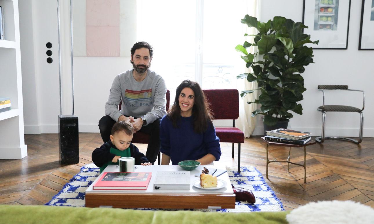 Stéphanie Lizée et Franck, Pablo 2 ans
