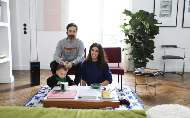 Stéphanie Lizée and Franck, Pablo 2 years old