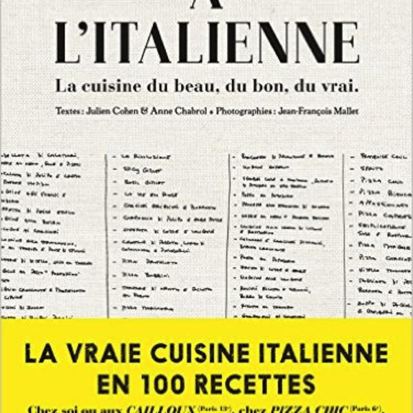 Livre de cuisine a l 39 italienne the socialite family for Cuisine a l italienne