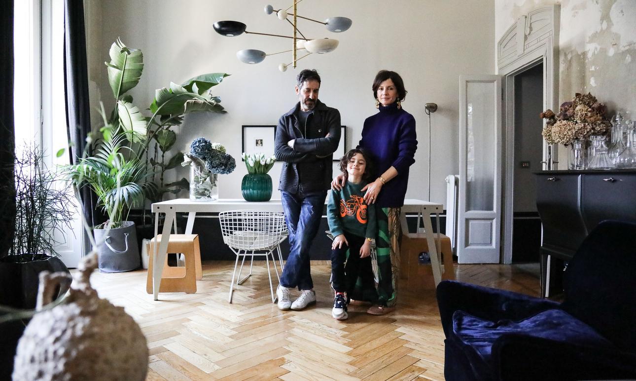 Barbara Ghidoni and Renato Corazzo, <br> Ludovico 5 years old
