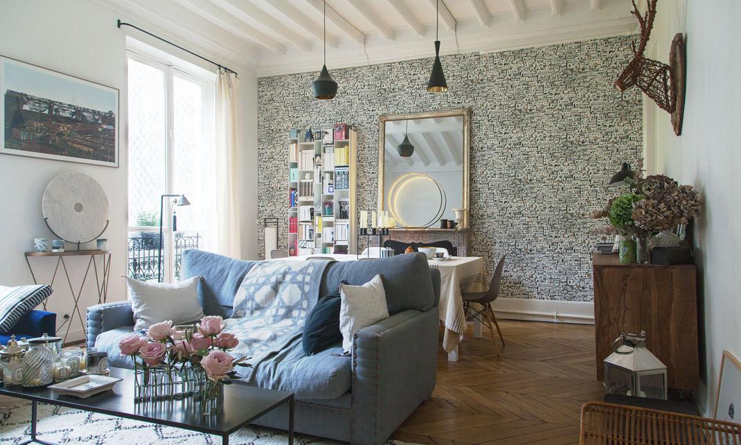 Salon Appartement Paris Camille Co
