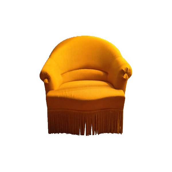 Fauteuil Crapaud Jaune The Socialite Family - Fauteuil crapaud jaune