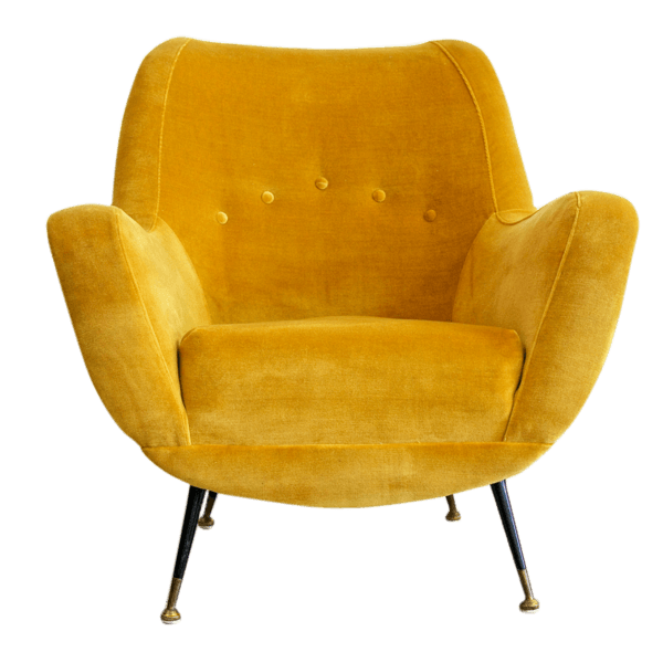 Lumi re sur le jaune the socialite family - Fauteuil jaune moutarde ...