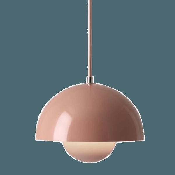 Flowerpot Ceiling Lamp Verner Panton Pink The Socialite