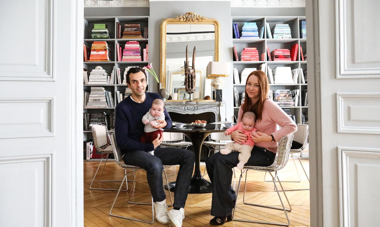 Marianne Fersing and Cédric Charbit, <br> Loulou, Anouk 4 months