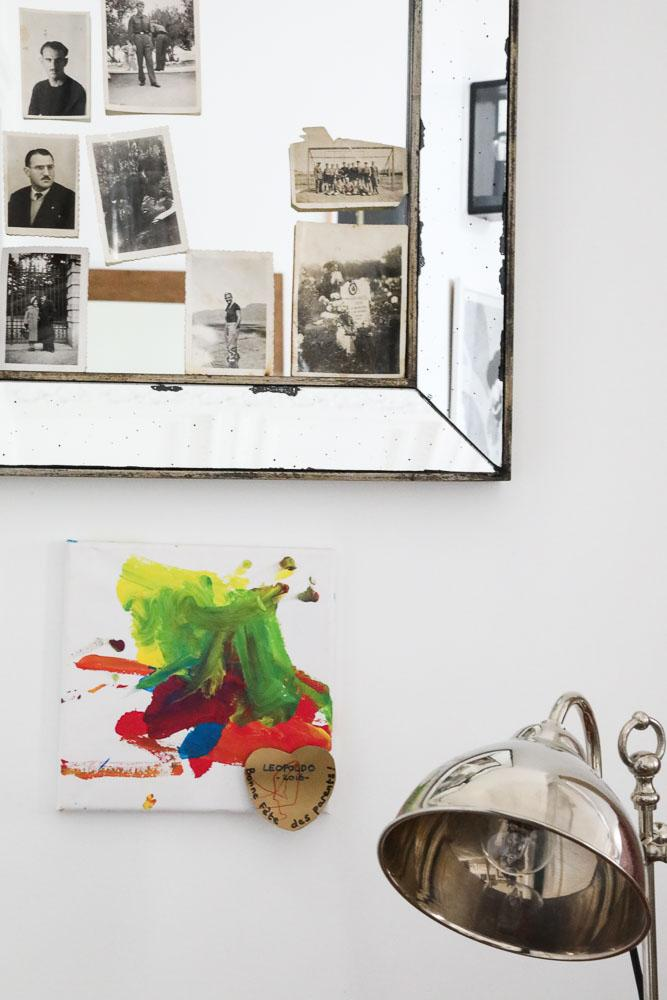 Souvenirs Photographies Accumulation Miroirs Appartement Ortensia Castelli