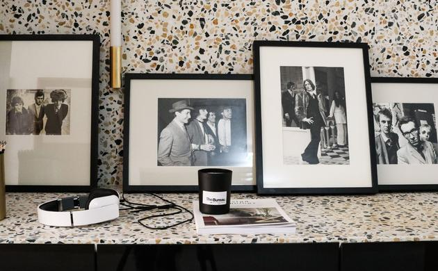 Photographies Drouot Vintage Noir Blanc Bougie Casque The Bureau Coworking Paris