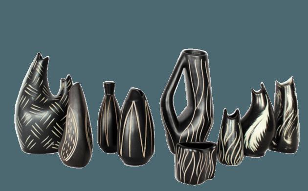 Vases en céramique Elisabeth Loholt