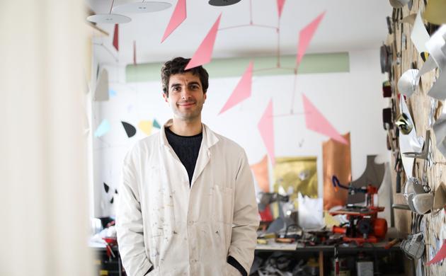 Alex Palenski and Flora Mitjavile,<br> the Art of Materials