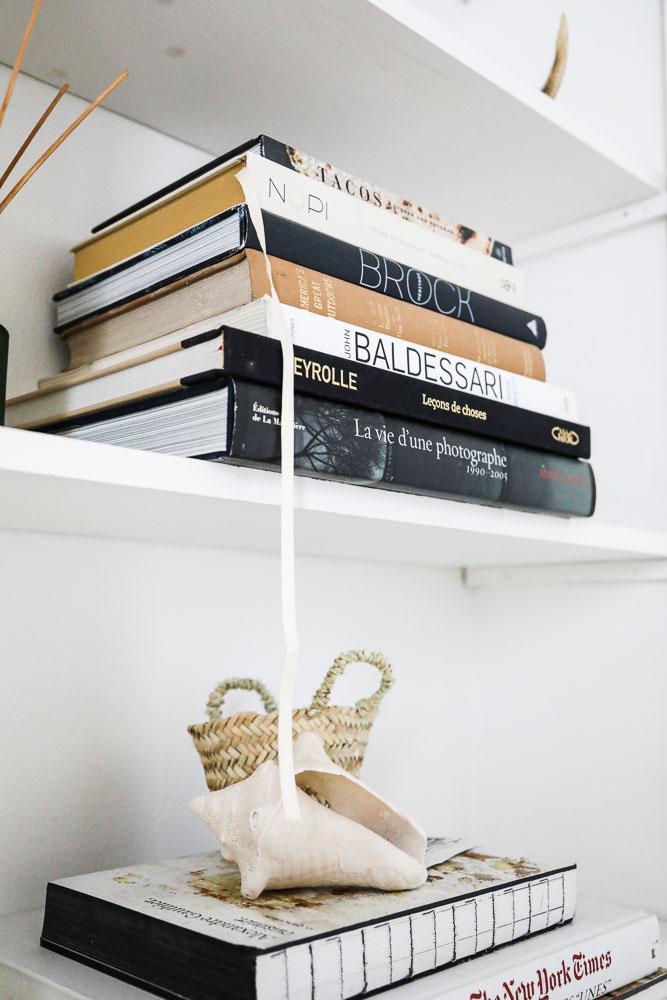 Livres Étagère Appartement Carrie Solomon Paris